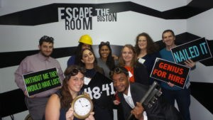 Katherine Connolly MBA Young Lawyers Escape the Room Event